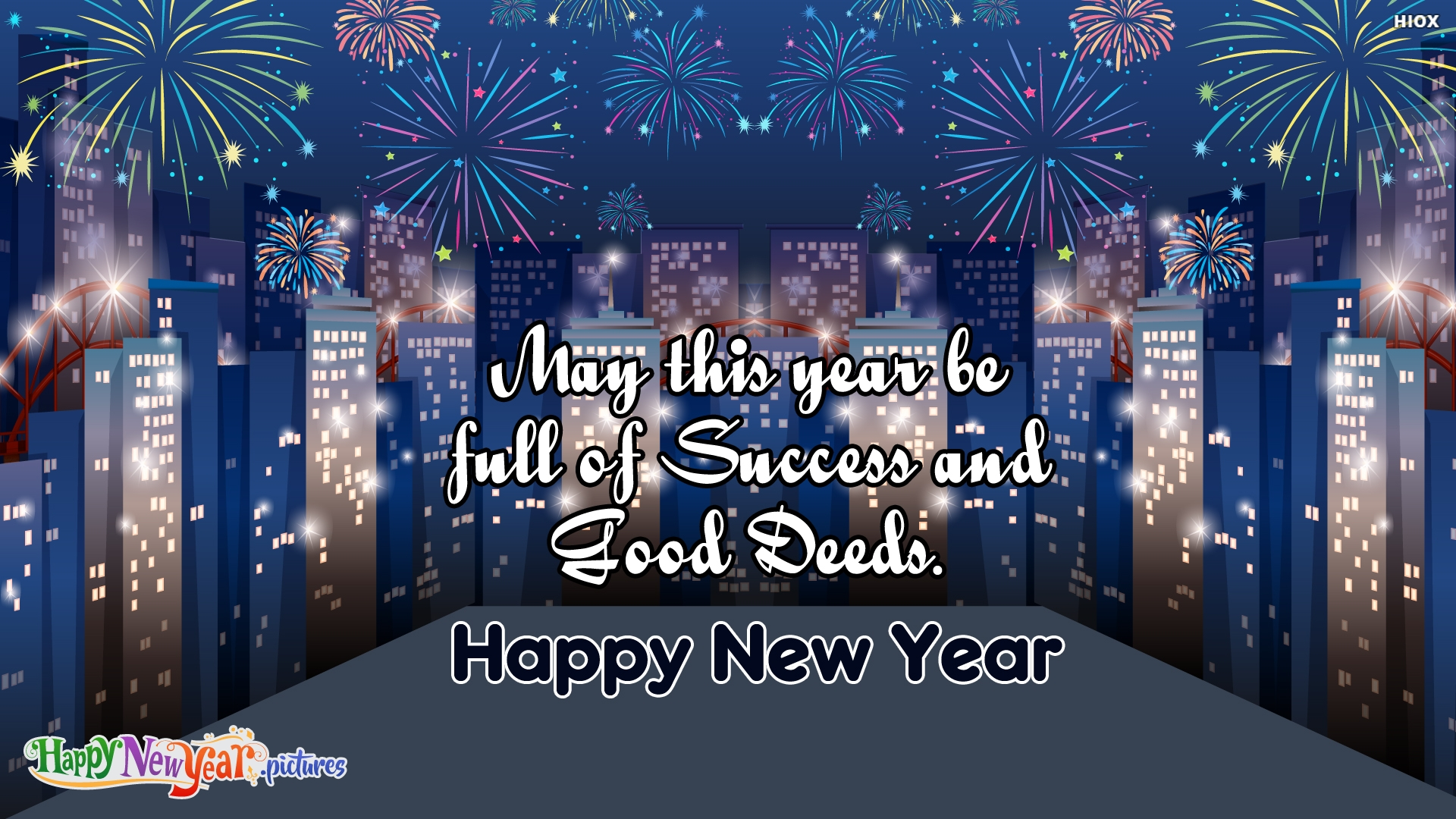 Bright Happy New Year Wishes To All