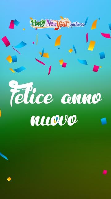 Cheerful Happy New Year Wishes In Italian