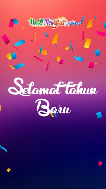 Cheerful Happy New Year Wishes In Malay