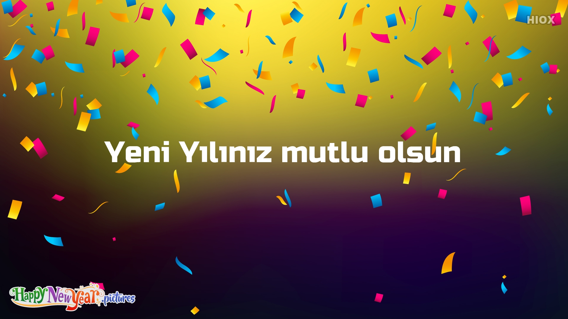 Cheerful Happy New Year Wishes In Turkish