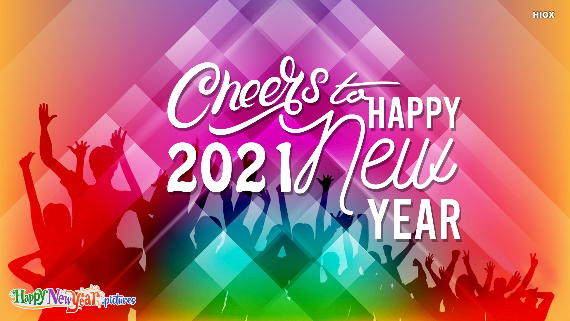 Cheers To 2021! Happy New Year!
