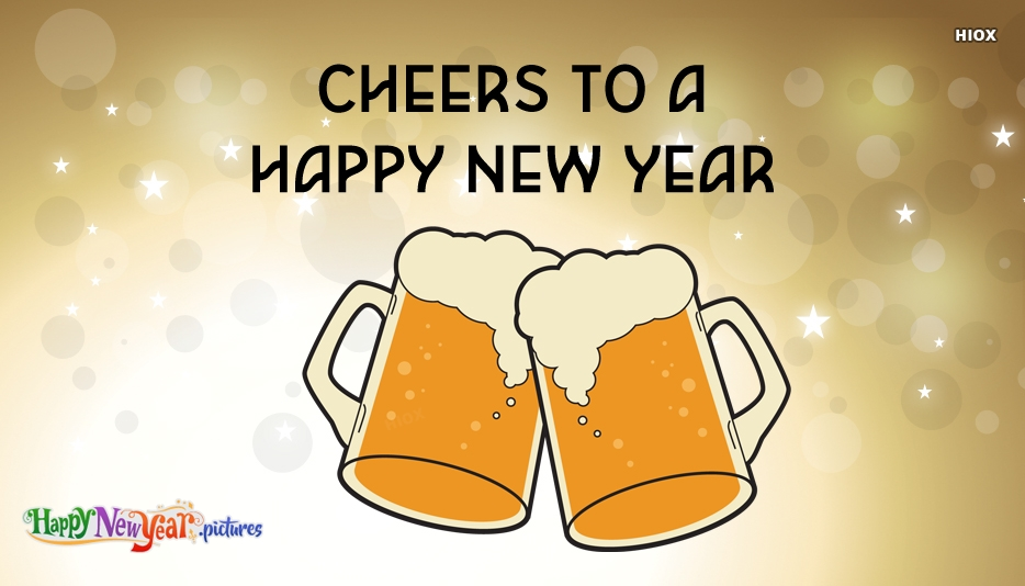 Cheers To A Happy New Year Image
