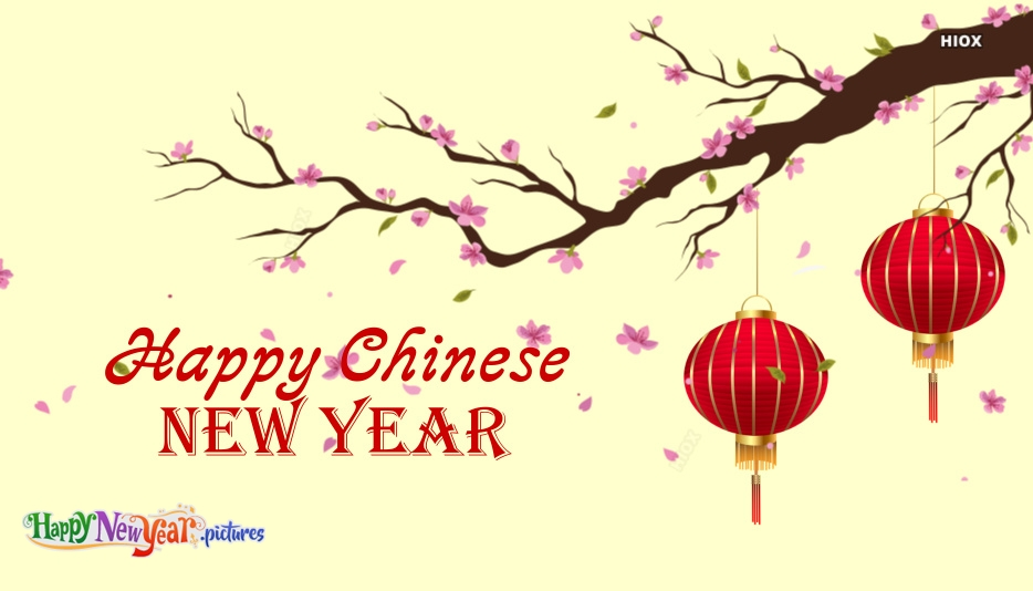 Chinese New Year Happy New Year Greeting