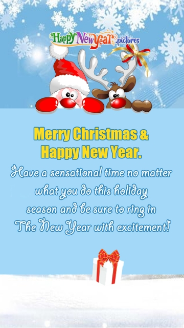 Best Merry Christmas and Happy New Year Quotes