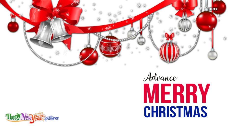 Christmas Wishes Advance