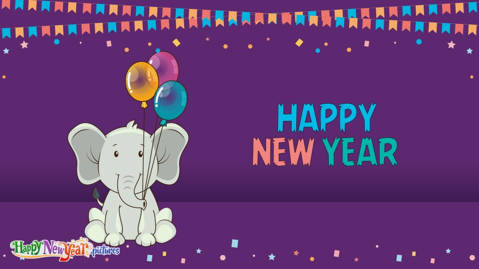 Cute Happy New Year Wishes To All
