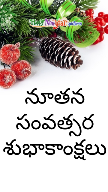 Delightfull Happy New Year Wishes In Telugu