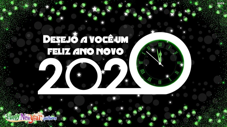 Desejo A Você Um Feliz Ano Novo