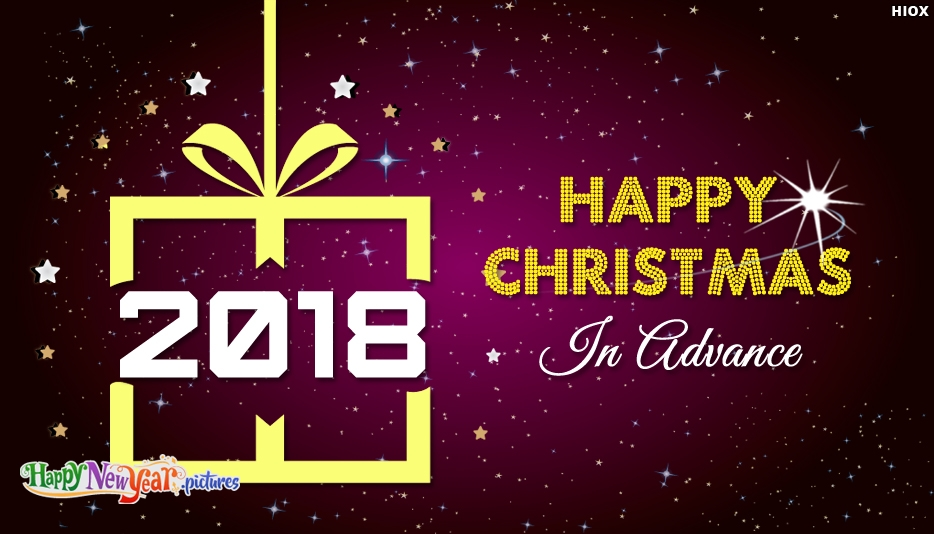 Download Of Happy Christmas In Advance