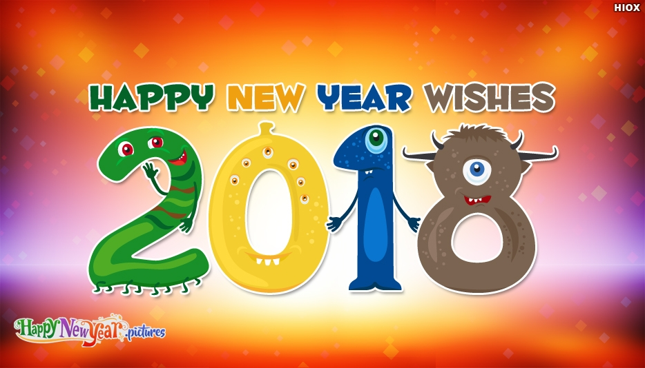 Funny New Year 2018 Wishes - Happy New Year Images for Friends