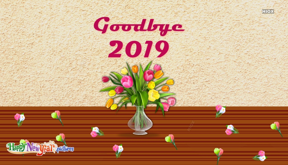 Goodbye 2019 Images