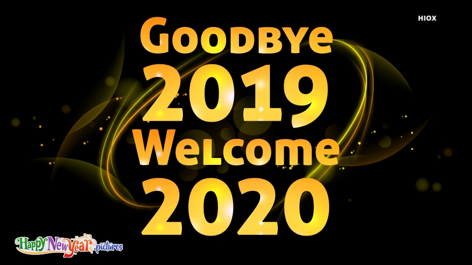 Welcome 2020 Happy New Year Image