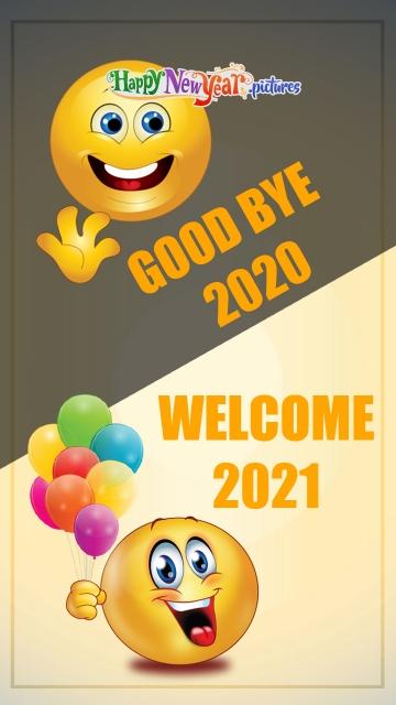 Goodbye 2020. Welcome 2021!