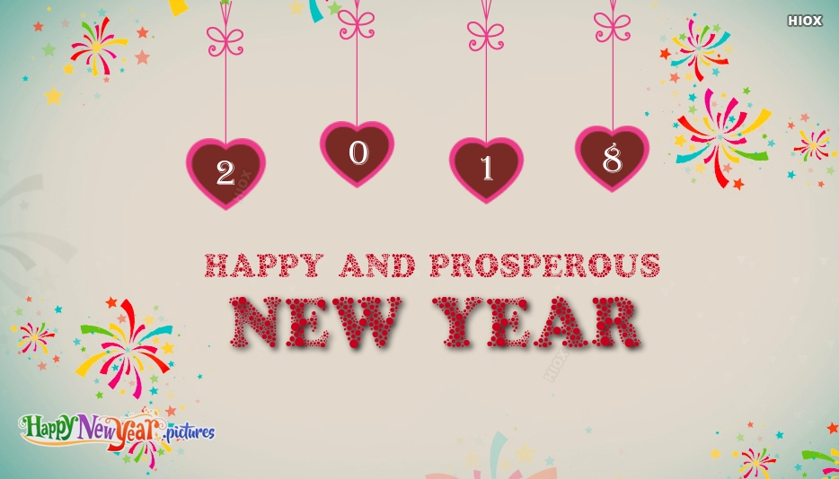 Happy and Prosperous New Year Greetings