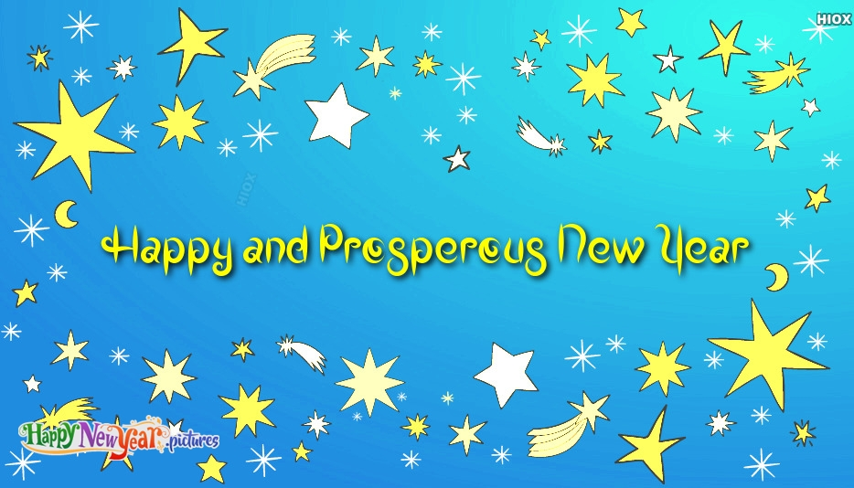 Happy and Prosperous New Year Card