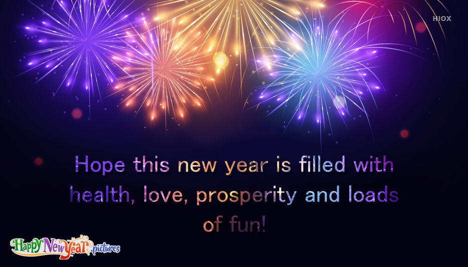 Happy and Prosperous New Year Message