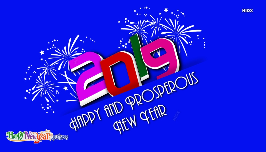 Happy And Prosperous New Year Greeting