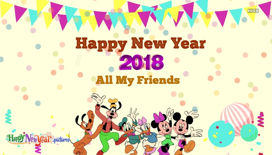 Happy New Year 2018 All Friends