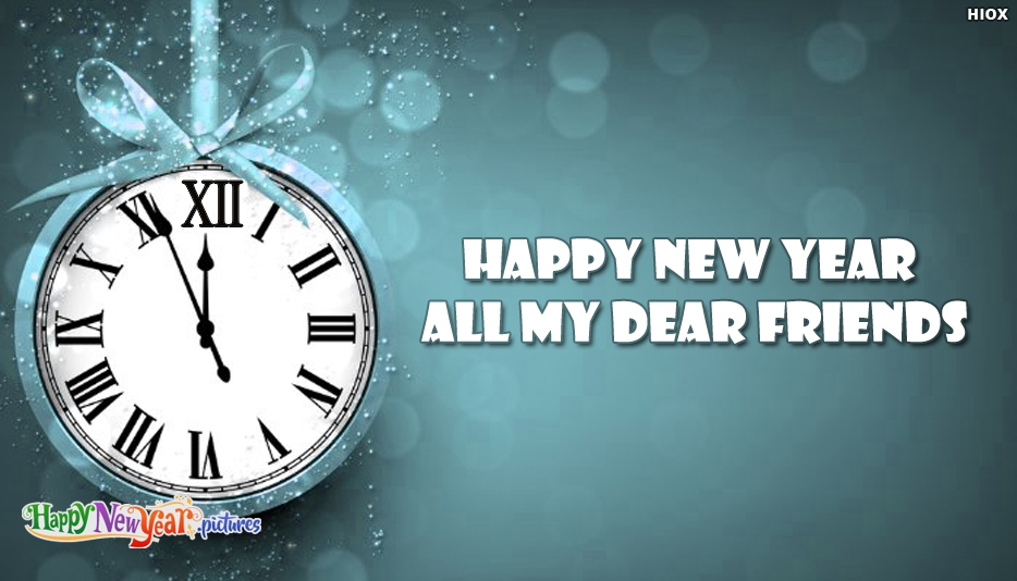 Happy New Year 2018 My Friends