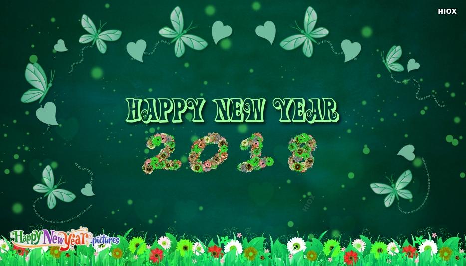 Happy New Year 2018 Wallpaper