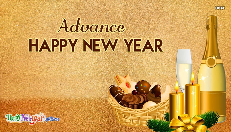 Happy New Year 2019 Advance