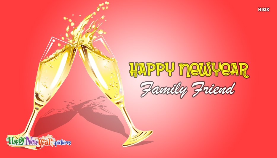 Happy New Year 2019 Family Friend