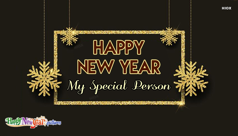 Happy New Year 2019 Special Person | Happy New Year 2019 My Special Person