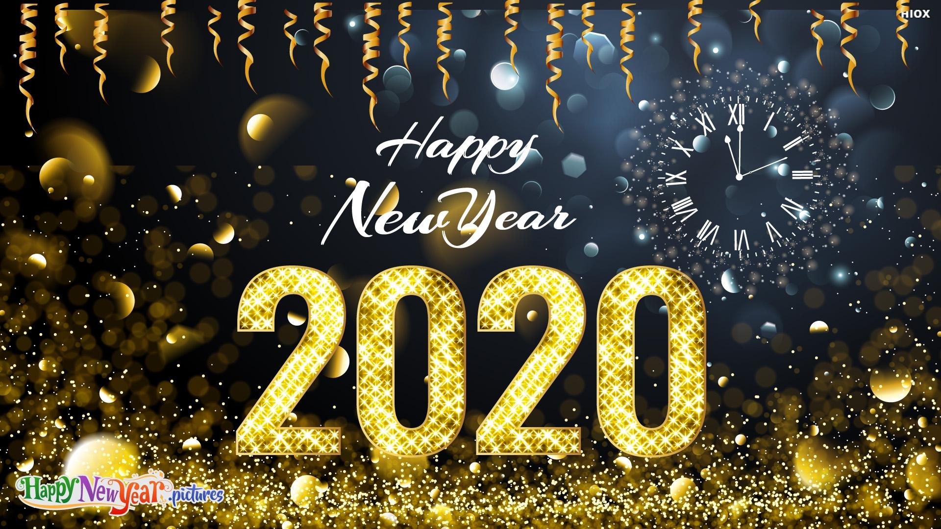 Happy New Year 2020 My Dears