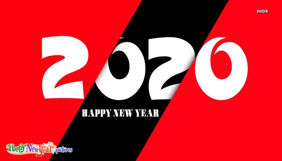 Happy New Year 2020 Advance