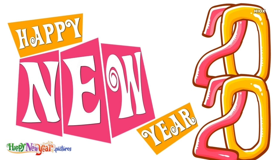 Happy New Year 2020 Clipart