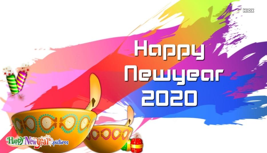 Happy New Year 2020 Design