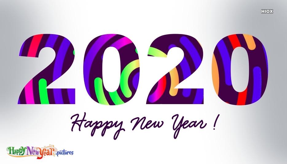 Happy New Year 2020 Icon
