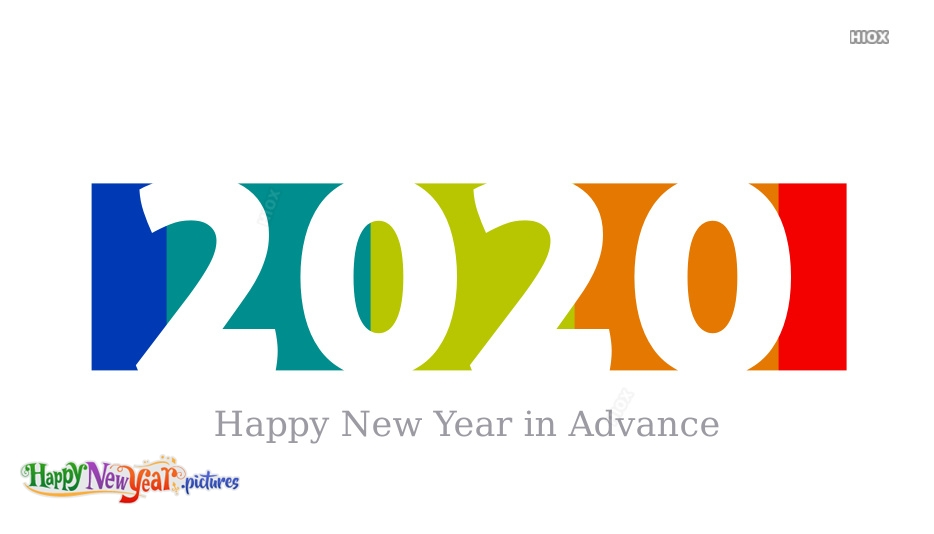Advance Happy New Year Images, Pictures