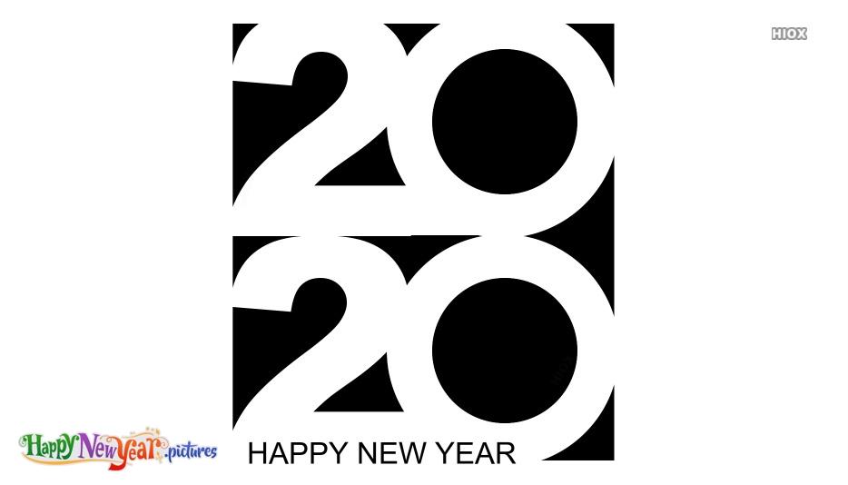 Happy New Year 2020 Logo