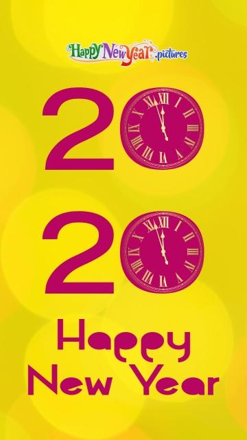 Happy New Year 2020 My Sweet Friends