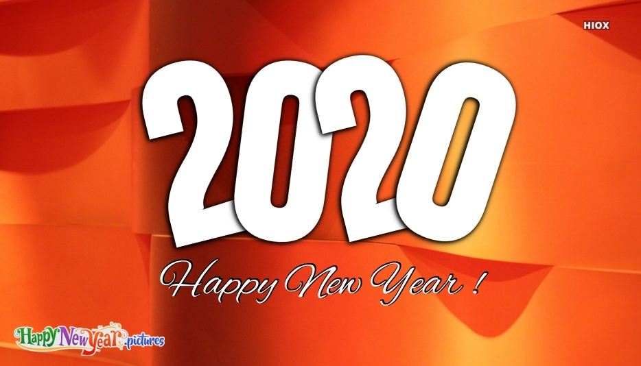 Happy New Year 2020 Vector Free