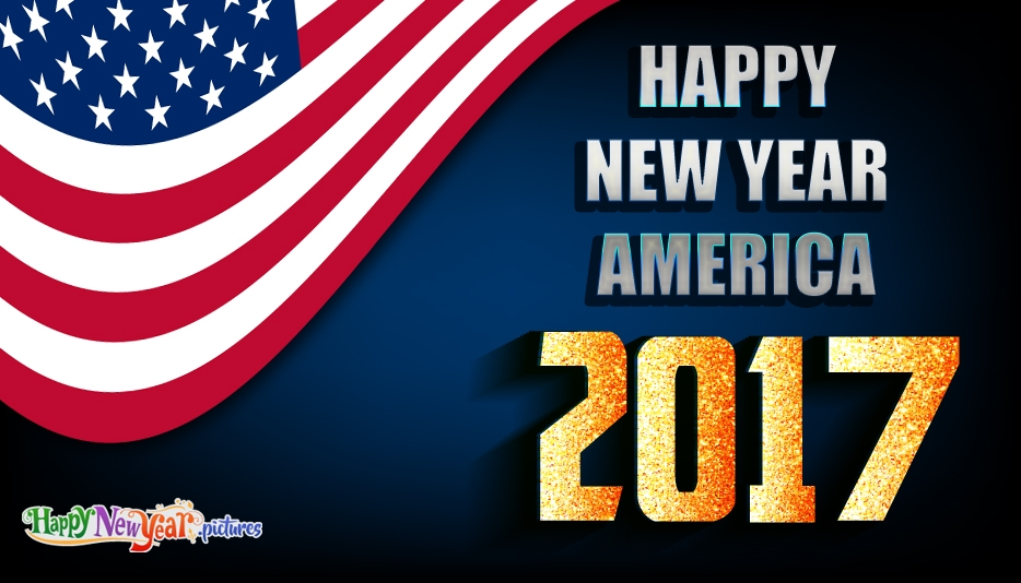 Happy New Year America - Happy New Year Images for 2017