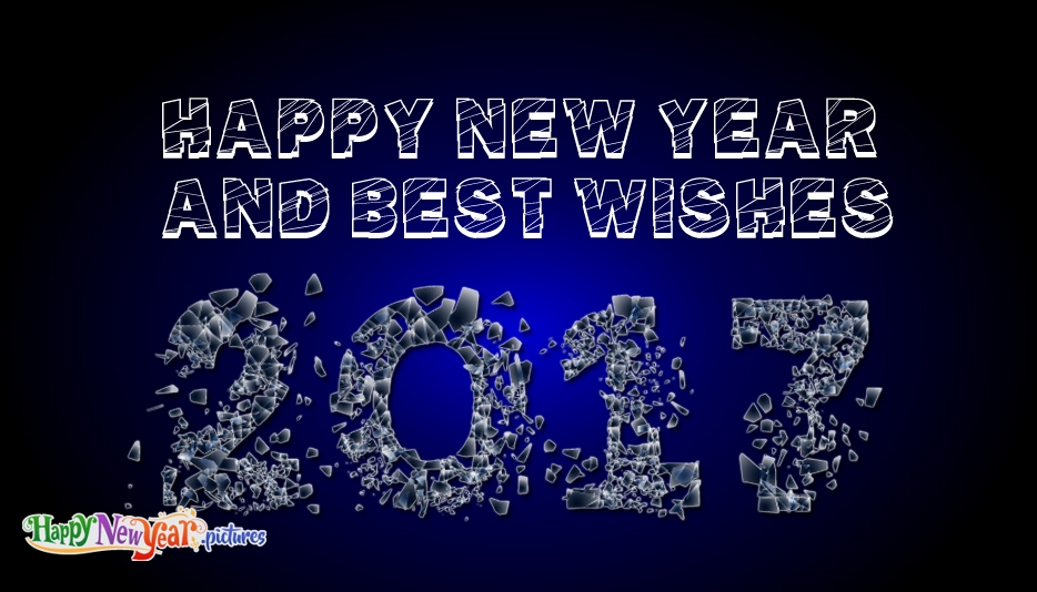 Happy New Year and Best Wishes - Happy New Year Images for Friends and Family