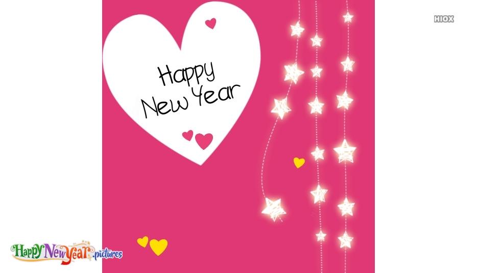 Happy New Year 2020 Heart Image