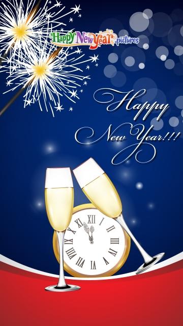 Happy New Year Background 2020