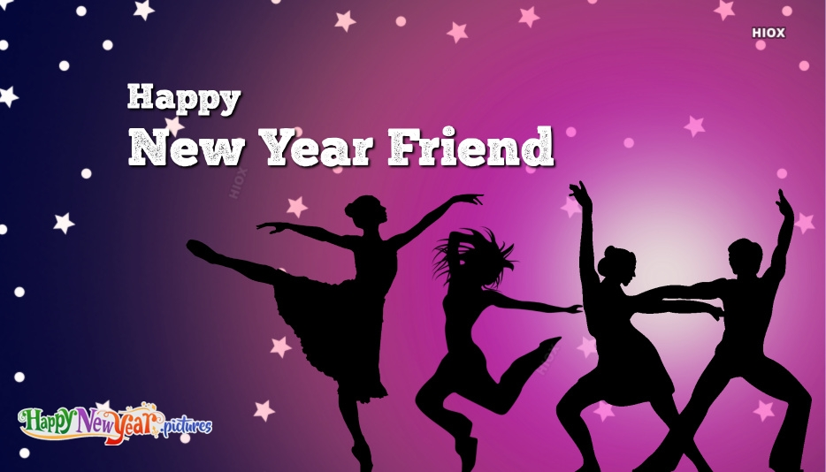 Happy New Year Images for Best Friend