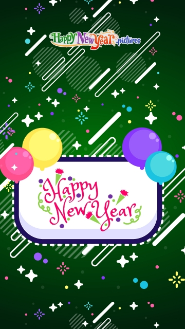 Happy New Year Have A Colorful Year