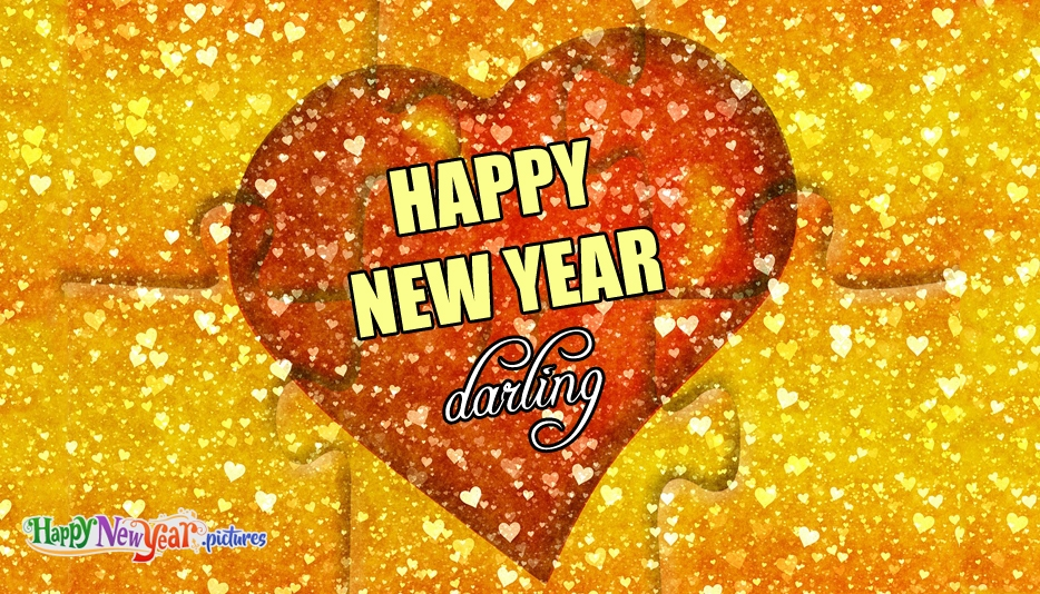 Happy New Year Darling - Happy New Year Images for Lover