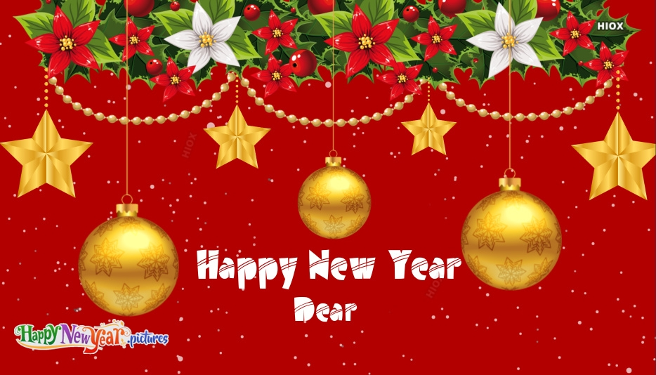 Happy New Year Dear Images