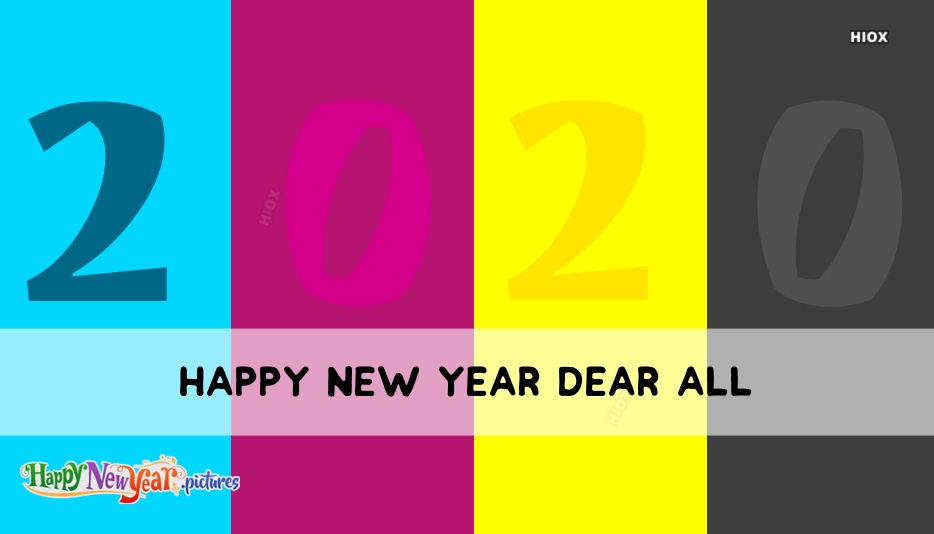 Happy New Year Dear All