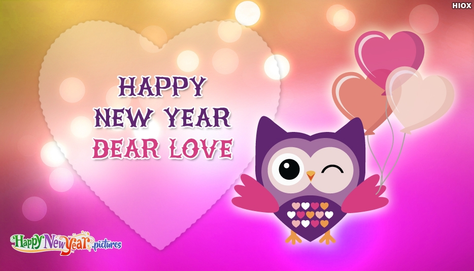 Happy New Year Dear Love