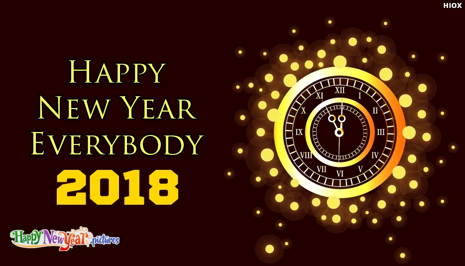 Happy New Year Everybody - Happy New Year Images for Whatsapp