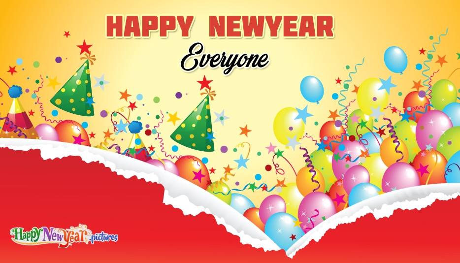 Happy New Year Everyone Wish - Happy New Year Images for Everyone