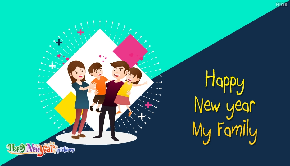 Happy New Year Family Wishes