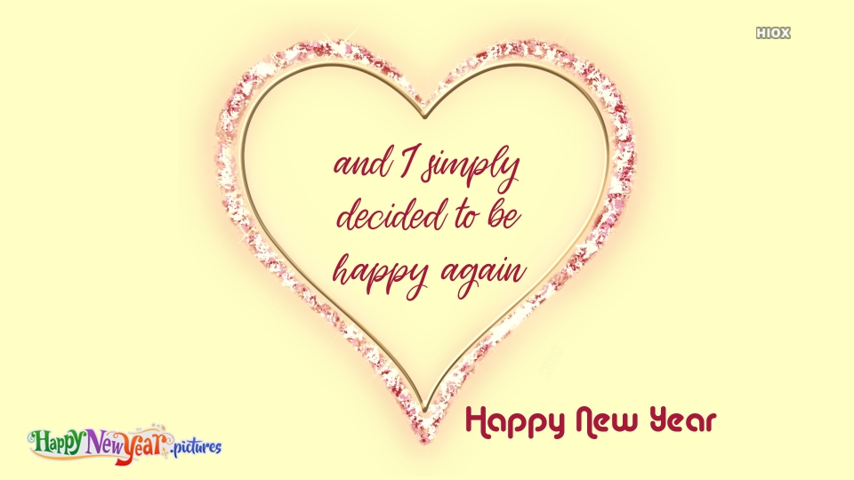 Happy New Year 2020 Heart Images